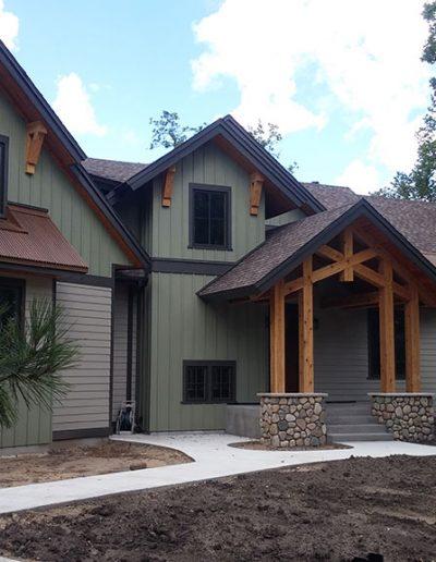 Cedar Timber Screen Porch